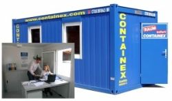 Containex Burocontainer Sanitarcontainer Lagercontainer