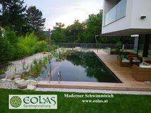 eolas gartengestaltung naturpools schwimmteiche in bad kreuzen. Black Bedroom Furniture Sets. Home Design Ideas