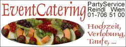 PARTYSERVICE & CATERING WIEN & UMGEBUNG FAM. REINDL 0664/510 96 92