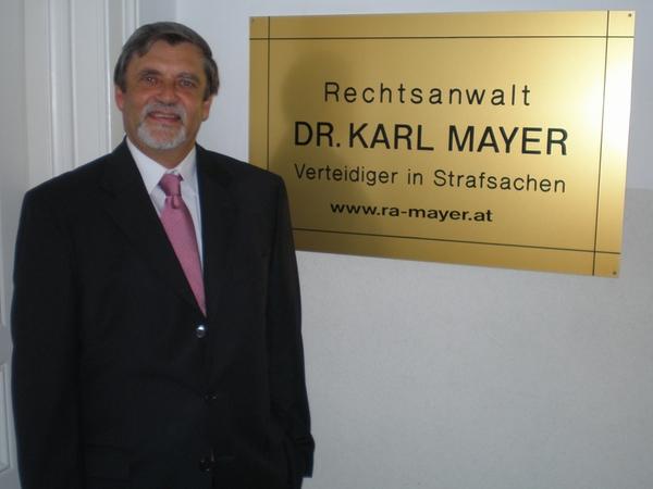 Rechtsanwalt Dr Karl Mayer In Baden
