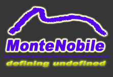 MonteNobile - defining undefined!