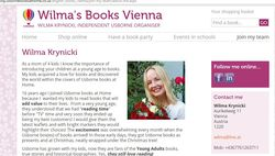 Wilma Krynicki Independent organiser for Usborne Books at Home English Books in Vienna, Business in a Box, Free books for your c